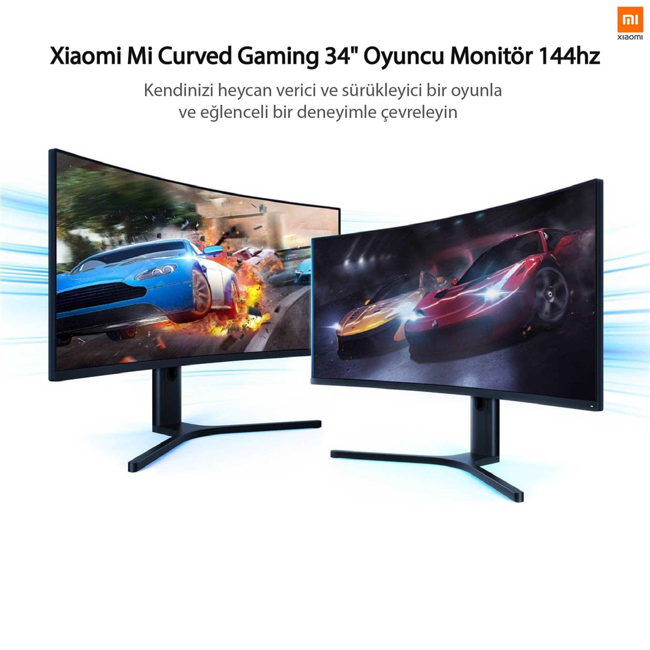 Xiaomi Mi Curved BHR4269GL 34' Led Monitör